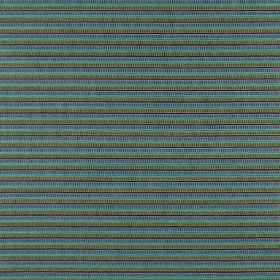 Geronimo - Amazon - Bright aqua blue, denim blue and grey thin horizontal stripes on fabric made from polyester, acrylic and viscose