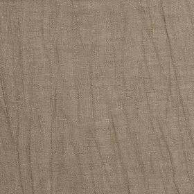 Breeze - Seagrass - Dark brown linen and polyester blend fabric finished with a very subtle grey tinge