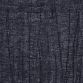 Breeze - Onyx - Linen and polyester blend fabric made in a striking, very dark blue-black colour