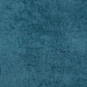 Carnaby - Teal - A rich, jewelled marine blue tone covering luxurious 100% polyester fabric