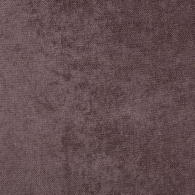 Carnaby - Nutmeg - Fabric made from 100% polyester in a dark, dusky aubergine colour