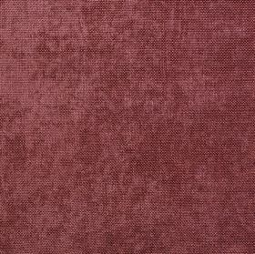 Carnaby - Mulberry - Slightly patchy fabric made from 100% polyester in a dark reddish pink colour