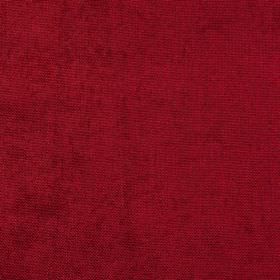 Carnaby - Cranberry - Fabric made from luxurious, deep burgundy coloured 100% polyester