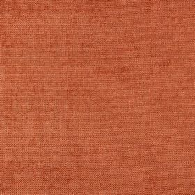 Carnaby - Tangerine Twist - 100% polyester fabric made in a rich brick red colour