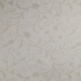 Classic Crewels 2 - 0 - Cotton fabric with a very subtle floral pattern in two pale shades of grey