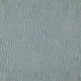 Illuminate - Ocean - Very subtle patterns and dandelion designs covering dusky blue-grey coloured fabric made from 100% polyester