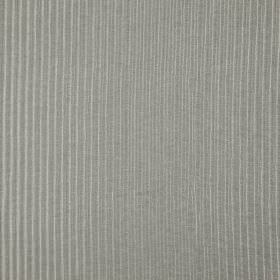 Background - Whisper - Steel grey coloured 100% polyester fabric featuring a very thin, subtle vertical line design in a lighter shade of gr