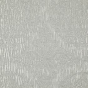 Tableau - Mist - Light cloud grey coloured 100% polyester fabric featuring very subtle patterns which are pretty and delicate