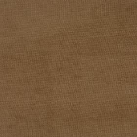 Eden - Chipmonk - Coffee coloured fabric which is plain in design
