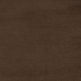 Eden - Chocolate - Fabric with a flat, very dark brown finish