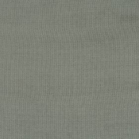 Eden - Aluminium - Fabric in a plain shade of dark green which has a slight grey tinge to it