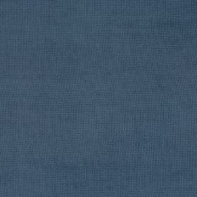 Eden - Denim - Air Force blue coloured fabric with no pattern or design