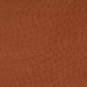 Eden - Chutney - Unpatterned fabric in a colour which is a mix of brown and orange