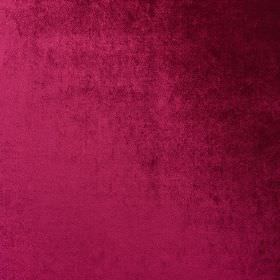 Marco - Rosa - Rich cherry coloured 100% polyester fabric finished with some darker black coloured patches