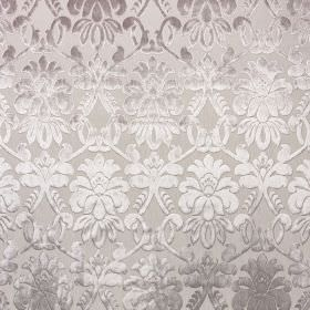 Ferrara - Bigiuccia - 100% polyester fabric made in various different light shades of grey, covered with an elegant, detailed, shaded patter