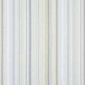 Giovanni - Dune - Off-white, light green and light blue striped hard wearing fabric