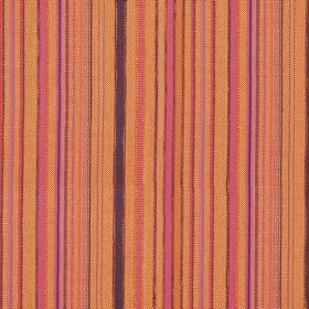 Giovanni - Sierra - Hard wearing fabric striped with oranges, pinks and purples