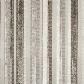Raphael - Dune - Various different shades of grey making up a striped pattern for this fabric