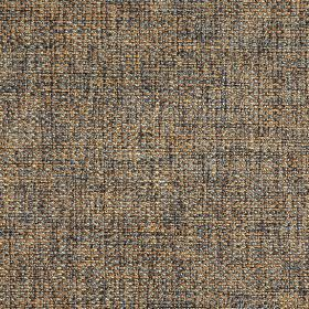Donatello - Mineral - Fabric woven with dark grey, orange and gold coloured threads