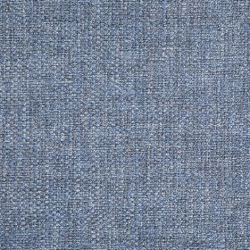 Donatello - Delft - Fabric woven with thick threads in different shades of denim blue