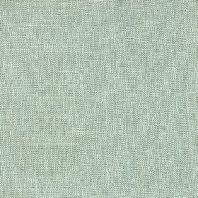 Kingsley - Mineral - Plain polyester fabric in a pale shade of minty green
