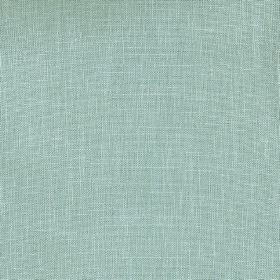 Kingsley - Teal - 100% polyester fabric in a plain, light teal colour