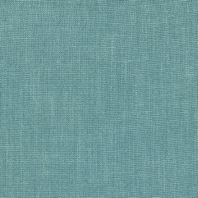 Kingsley - Denim - Fabric made from aquamarine coloured 100% polyester