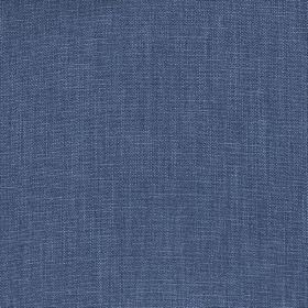 Kingsley - Cobalt - Fabric made entirely from polyester in a deep denim blue