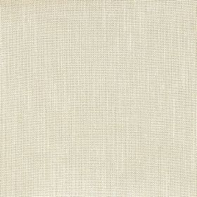 Kingsley - Jute - Magnolia coloured 100% polyester fabric