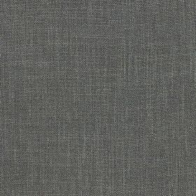 Kingsley - Liquorice - Fabric made from plain battleship grey coloured polyester