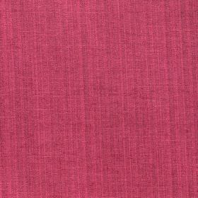Madison - Magenta - Raspberry coloured polyester-cotton blend fabric with a very subtle, slightly darker vertical stripe