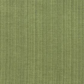 Madison - Pesto - Bright, leafy green coloured fabric with a polyester and cotton blend and a very subtle vertical stripe