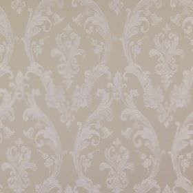 Burlington - Putty - Very subtle patterns creating an elegant, sophisticated design on 100% cotton fabric in pale shades of grey and beige