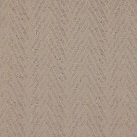 Elba - Tinsel - Two similar grey-beige shades making up a thick, stylish herringbone style design on 100% polyester fabric