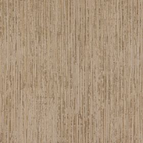 Newgate - Carat - Pale creamy beige-grey coloured 100% polyester fabric, printed with thin vertical streaks in a dark brown colour