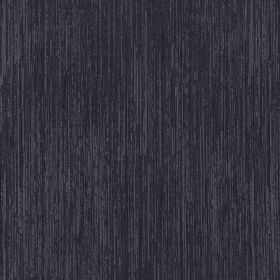 Newgate - Charcoal - Thin, light grey streaks running down a very dark grey coloured 100% polyester fabric background