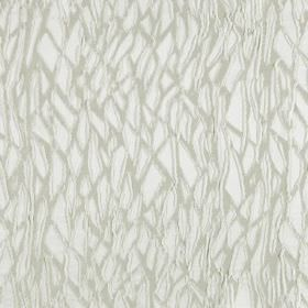 Craft - Whisper - White hard wearing fabric featuring a random pattern of tangled lines in light grey