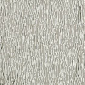 Fold - Silver Grey - Light grey hard wearing fabric patterned with random white wavy lines