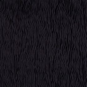 Fold - Phantom - Black hard wearing fabric with a very subtle pattern of wiggling lines