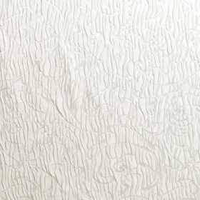 Pleat - Pristine - Hard wearing fabric in white, patterned with both wiggling lines and a large swirl design