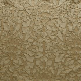 Shape - Incense - Gold coloured fabric which is hard wearing, covered in an ornate pattern which is slightly raised