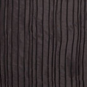 Crepe - Teak - Very dark hard wearing fabric with subtle black stripes which appear to be slightly textured