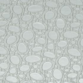 Diagram - Metal - Hard wearing fabric with a pattern of misshapen ovals in two very pale but similar shades of blue