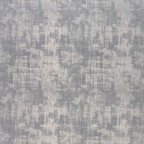 Miami - Silver Lining - Fabric made from polyester and viscose, featuring a patchy pale grey and steely blue coloured effect