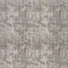 Miami - Silver Fern - Polyester and viscose blend fabric made in various shades of grey, featuring a patchily coloured finish