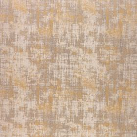 Miami - Spectra Yellow - Sand, steel grey and pale grey-white colours making up a patchy finish on fabric made from polyester and viscose