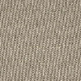 Mistral - Oyster - Hard wearing fabric woven with threads of different thicknesses in grey and cream