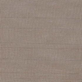 Mistral - Walnut - Grey-cream coloured hard wearing fabric woven with some slightly thicker horizontal threads