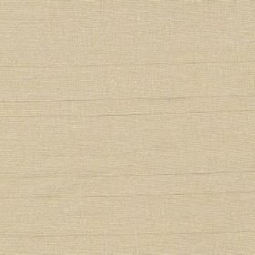 Mistral - Beige - Champagne coloured hard wearing fabric with some horizontal threads being slightly thicker than the rest