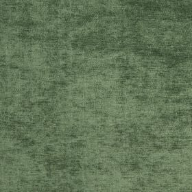 Gallo - Pesto - Slightly textured fabric which is patchy emerald green in colour
